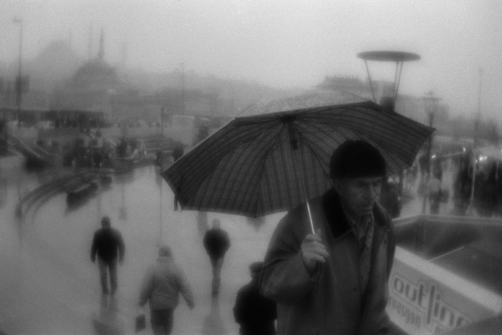 New Mosque Square, Istanbul. View from Galata Bridge. Turkey, 15