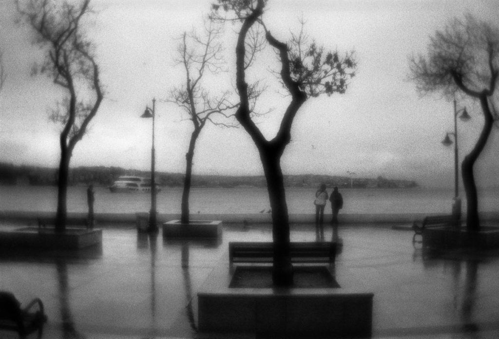 Bosphorus embankment. Istanbul, Turkey, 04.01.2011