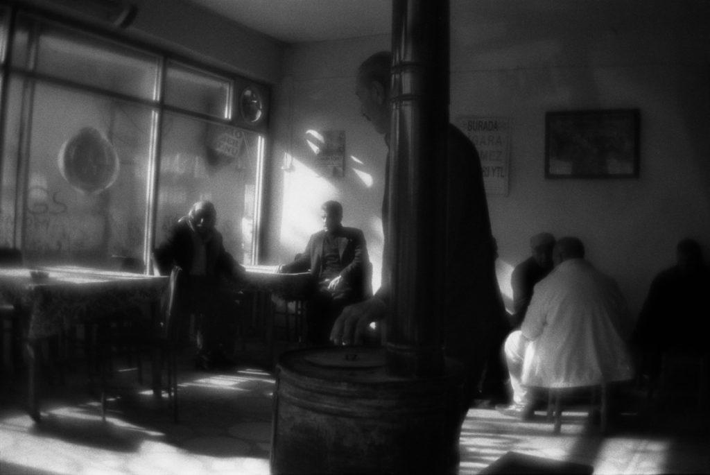 In a teashop in Diyarbakır. Turkey, 10.01.2011