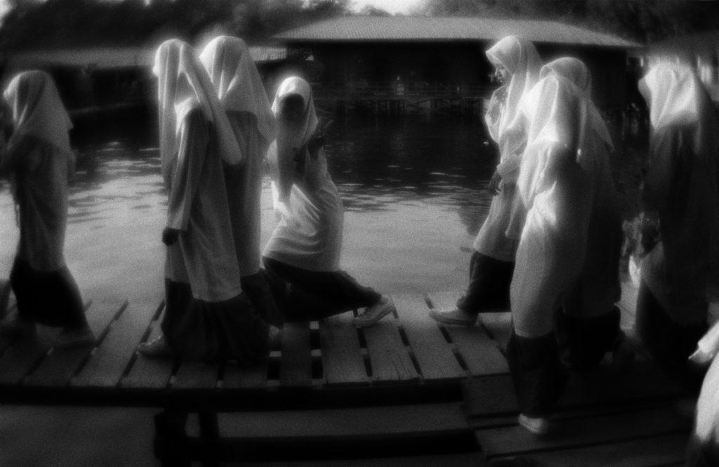The school for the Bajau children on the Pulau Gaya (Sea Gypsies