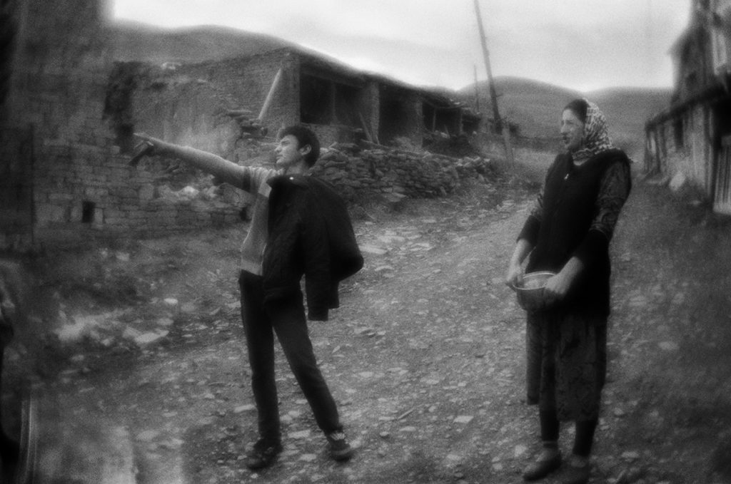 Chirag settlement. Republic of Dagestan, Russia. 25.09.2017