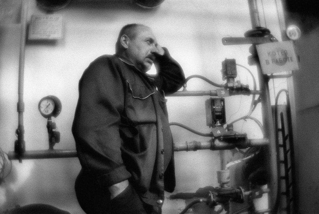 Inside the gas boiler house. Klintsy town, Briansk region. Russi